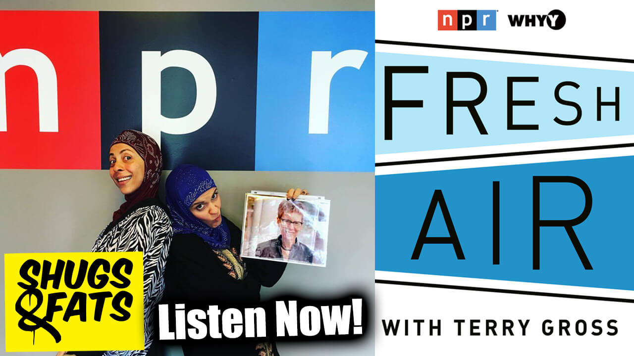 Shugs & Fats were featured on NPR's Fresh Air with Terry Gross!