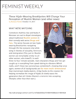 Feminist Weekly - These Hijab-Wearing Brooklynites Thumb